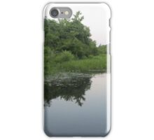 river reflection  iPhone Case/Skin