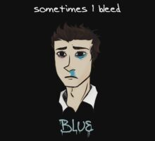 Sometimes I Bleed Blue - Newton Geiszler by packmama