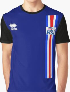 Euro 2016 Football - Iceland Graphic T-Shirt
