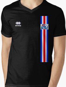 Euro 2016 Football - Iceland Mens V-Neck T-Shirt