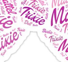 Trixie Mattel Barbie Sticker
