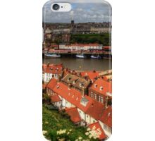 Whitby from the East Cliff iPhone Case/Skin