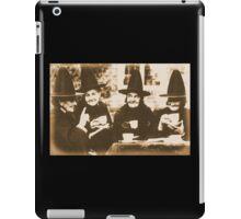 Witches Tea Party - sepia iPad Case/Skin