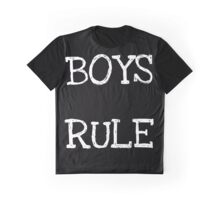 Boys Rule Graphic T-Shirt