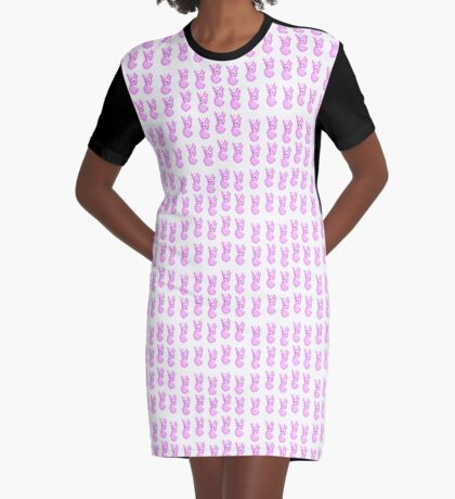 Bunny army Graphic T-Shirt Dress