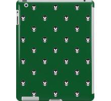 Boosh faces on green iPad Case/Skin