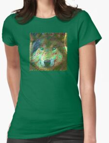 Spiritual Nature of Wolves Womens Fitted T-Shirt