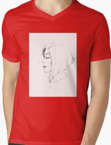 Profile Mens V-Neck T-Shirt