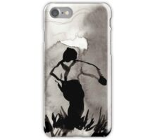 Vintage Ink Drawing  iPhone Case/Skin
