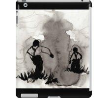 Vintage Ink Drawing  iPad Case/Skin