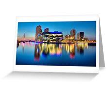 Salford Quays Media City Greeting Card