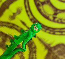 Lizard man - MiniFigure by Peter Kappel