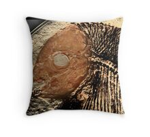 fossil 3 Throw Pillow