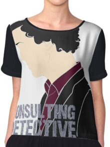 Consulting Detective 3 Chiffon Top