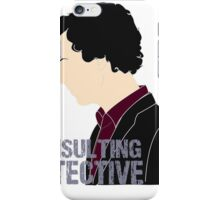 Consulting Detective 3 iPhone Case/Skin