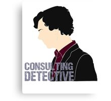 Consulting Detective 3 Canvas Print