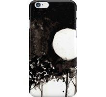 Surrealist Charcoal Landscape iPhone Case/Skin