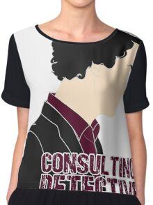 Consulting Detective 4 Chiffon Top