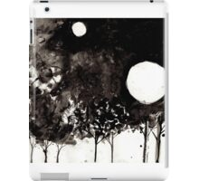 Surrealist Charcoal Landscape iPad Case/Skin