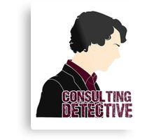 Consulting Detective 4 Metal Print