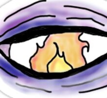 They had a certain fire in their eyes... Sticker