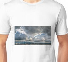 Storm Cloud Panorama over Lake Constance Unisex T-Shirt