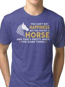 You can buy a Horse Tri-blend T-Shirt