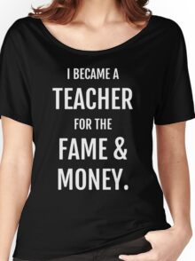 Fame & Money Women's Relaxed Fit T-Shirt