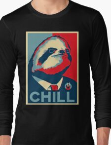 vote sloth Long Sleeve T-Shirt