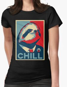 vote sloth Womens Fitted T-Shirt