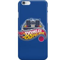 Hot Wheels to the Future iPhone Case/Skin