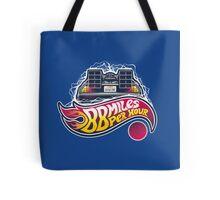 Hot Wheels to the Future Tote Bag