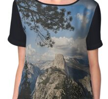 Glimpse of Half Dome Chiffon Top