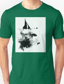 Ink Sailboat Unisex T-Shirt