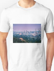 View of Brisbane City from Mount Coot-tha Unisex T-Shirt