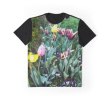 Tulip Garden Graphic T-Shirt