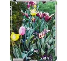 Tulip Garden iPad Case/Skin