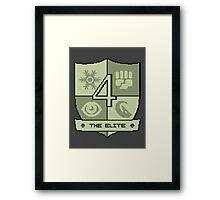 The Elite Four Framed Print