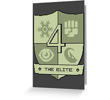 The Elite Four Greeting Card