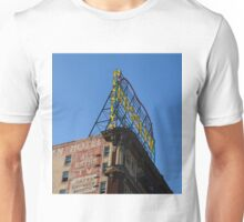 Rossmore Hotel Neon Sign - Downtown LA Unisex T-Shirt