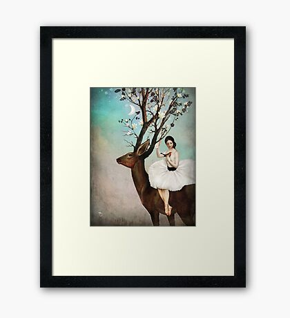 The Wandering Forest Framed Print