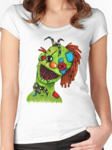 Clowning Around Women's Fitted Scoop T-Shirt