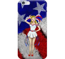 Fourth of July Lady iPhone Case/Skin