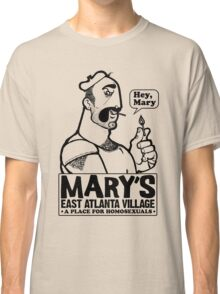 HEY MARY (black ink) Classic T-Shirt