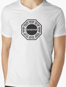 The Dharma Initiative Mens V-Neck T-Shirt