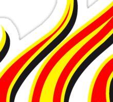 Feuer flammen kunst  Sticker