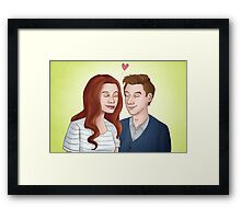 Together (Doctor Who) Framed Print