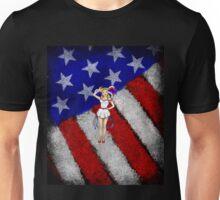 Fourth of July Lady Unisex T-Shirt