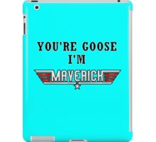 I'M MAVERICK iPad Case/Skin