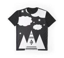 Tepee Cloud Graphic T-Shirt